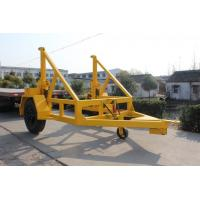 Buy cheap 80KN Hydraulic Underground Cable Installation EquipmentWire Reel Trailer from wholesalers