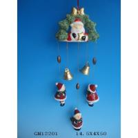 Buy cheap Hanging Ceramic Christmas Gift Wind Bell , Handmade Wind Chimes For Your Home from wholesalers