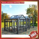 Buy cheap Prefabricated outdoor garden aluminum metal alu glass sun house,sunroom,aluminium structure,super durable! from wholesalers