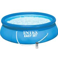"Buy cheap Intex 10'x30"" Easy Set Above Ground Inflatable Swimming Pool with Pump 56970 from wholesalers"