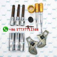 Buy cheap ERIKC Diesel Common Rail Tool Fuel Injector Assembly Disassembly Dismounting 11 pcs Repair Kits for Dleph1 D-ENSO B-OSCH from wholesalers