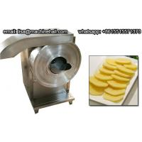Buy cheap 600KG/H Potato Chips Cutting Machine, Commercial Potato Slicer Machine from wholesalers