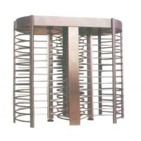304 Stainless Steel 2 Lane Full Height Turnstiles Single Or Double Way Optional 2300mm Height Manufactures