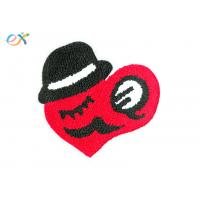 Buy cheap Chenille Thread Custom Chenille Patches Felt Border Sew On Chenille Patches from wholesalers