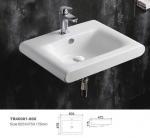 Buy cheap Ceramic hanging pottery corner sink wall mounted type wash basin hot sale hanging Basin vanity top art basin from wholesalers