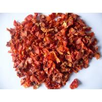 Buy cheap Grade A Air Dried Tomatoes 9x9mm Size Dried Vegetable Flakes FDA Standard from wholesalers