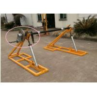 Buy cheap Detachable Type Drum Brakes Cable Reel Stand Wire Rope Reel Support Conductor from wholesalers