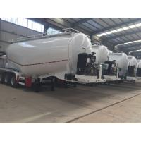 Buy cheap 3 Axle 40m3 48T Bulk Cement Tanker Trailer For Concrete Batching Plant from wholesalers