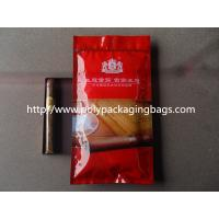 Buy cheap Humidification System Resealable Ziplock Cigar Bags With Slider from wholesalers