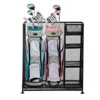 Buy cheap Golf  Sports Organizer Steel Wire Shelving Rack Two Bag Garage Wire Mesh Racking from wholesalers