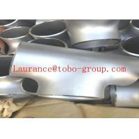Buy cheap Stainless Steel Pipe Fitting Tee ASTM/ASME B16.9 A403 A815 Butt Welded from wholesalers