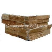 Wholesale Narual Culture Stone Conner Brown  Color  DIY Size from china suppliers