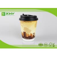 Buy cheap 12oz 400ml FDA Certificated Eco-friendly Double Wall Paper Cups with Lids product