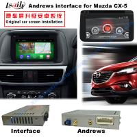 Android 4.4 Car Multimedia Video Interface For 2016 Mazda3/6/ CX -3 / CX -5 Manufactures
