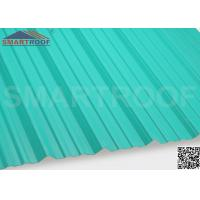 Buy cheap Industrial Corrugated Plastic Roofing In 27MM Pitch Height With 1.36M Length from wholesalers