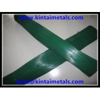 0.9mm green lacquered stub wire in 50cm length