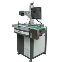 Buy cheap Laser Engraving Machine For Aluminum Tags , Fiber Laser Marker 0.15mm Minimum Character from wholesalers