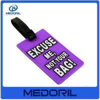 Buy cheap Custom logo cheap plastic luggage tags wholesale blank luggage tag with high quality from wholesalers