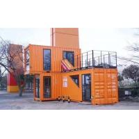 Buy cheap Prefab Shipping Cargo Container House , Modular Container Homes Rockwool Sandwich Panal from wholesalers