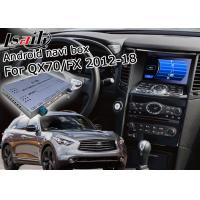 Buy cheap Android Navigation Car Video Interface Support Waze / Youtube For Infiniti QX70 / FX from wholesalers
