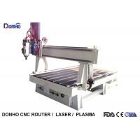 Buy cheap Desktop 4 Axis Cnc Milling Machine / Heavy Duty CNC Router With Syntec Control System from wholesalers