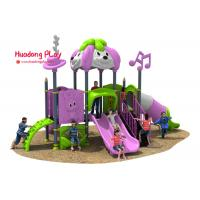 Wholesale Disneyland Series Outdoor Playground Slides , Plastic Children's Outdoor Playground Equipment from china suppliers