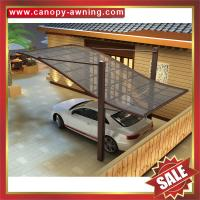 Wholesale outdoor hauling alu pc polycarbonate aluminium aluminium parking car shelter canopy awning cover shield carport from china suppliers