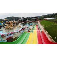 Buy cheap Commercial FRP Fiberglass Rainbow Water Slides customized SGS ISO9001 from wholesalers