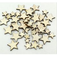 Buy cheap Wooden Star Mixed Size from wholesalers