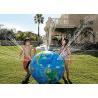Buy cheap Multifunction Globe Round Earth Balloon / Customized Design World Helium Ball from wholesalers