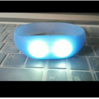 Wholesale sound and motion activated remote controlled led wristband silicone bracelets from china suppliers