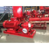 China Electrical Fire Fighting Pump System / Bronze Impeller End Suction Fire Pump on sale