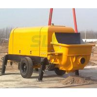 Buy cheap Mortar Transfers Small Concrete Pump , Small Cement Pump For Construction Projects from wholesalers