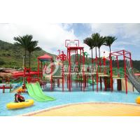 China Fiberglass Aqua Playground Equipment Interactive Fiberglass Products / Customized Water Park Products on sale