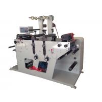 Rotary die cutting machine max width 320mm and with slitting rewinding function or sheeting Manufactures