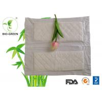 Buy cheap Gentle Bamboo Cloth Diaper Inserts , Comfortable Bamboo Flushable Liners from wholesalers