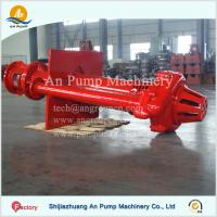 Buy cheap Mining Pit Sump Submerged Vertical Slurry Pump from wholesalers