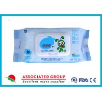 Wholesale Ultra Packing Baby Cleaning Wipes Pearl Dot Spunlace Uncontinuorsly Extrating 90PCS from china suppliers