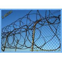 Buy cheap Razor Wire Fence Used with Barbed Wire Together for High Security Fencing from wholesalers
