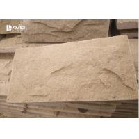 Wholesale Decorative Yellow Sandstone Wall Cladding Moisture Proof No Radiation from china suppliers