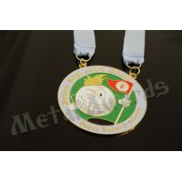 Wholesale Novelty Custom Baseball Medals , Kids Sports Medals Gold Silver / Copper Plating from china suppliers