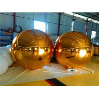 Buy cheap Fire Resistant Gold Mirror Ball Durable Attractive For Store Decoration from wholesalers