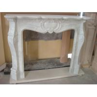 Buy cheap Craft Stove Fireplace, White Marble Fireplace for Decoration from wholesalers