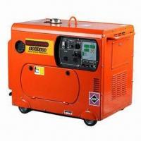 Buy cheap Portable Diesel Generator, 3kW Rated Output, 306cc Displacement with Electric Starting System from wholesalers