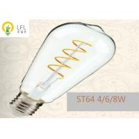 Buy cheap Transparent Glass Decorative LED Bulbs With Nickel Base Prevents Corrosion 200lm from wholesalers