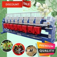 Buy cheap 15 needles 400*450mm cap t-shirt flat 3d 8 head computer embroidery machine for sale but cheaper than brother embroidery from wholesalers