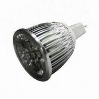 Buy cheap LED Spotlight with MR16 Lamp Base, Aluminum Housing and 6W Power from wholesalers