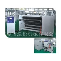 China Industrial Inspection Rewinding Machine / Protective Film Slitter Rewinder on sale