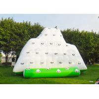 Buy cheap Water Iceberg Inflatable Water Games Rock Climbing Mountains For Pool from wholesalers