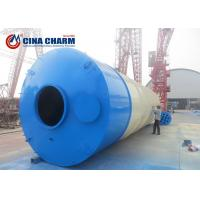 Buy cheap 100T Detachable Cement Storage Tank Silo , Fly Ash Storage Silo Easy To Use from wholesalers